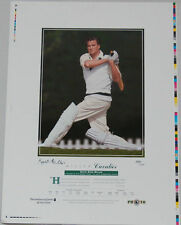 KEITH MILLER CAVALIER HAND SIGNED LIMITED EDITION AUSTRALIAN CRICKET PRINT