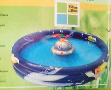 Spaßpool, Pool ,Spritzpool UFO 150 x 30 cm, Schlauchanschluß ,NEU,OVP