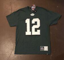 Joe Namath Majestic Hall Of Fame T Shirt Adult L