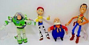 1999 Disney Pixar Toy Story 2 Prospector Stinky Pete Jessie Woody Buzz Figures