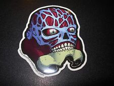 """THEY LIVE  Sticker 3X2.5"""" STORMTROOPER Skateboard poster print timothy anderson"""