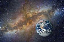 Photo Wall Mural-EARTH-(2516jJJ)-NON WOVEN-Wallpaper-Space Universe Stars Planet