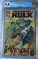 Incredible Hulk vs. Venom #1 CGC 9.8 2036546004 Marvel Peter David