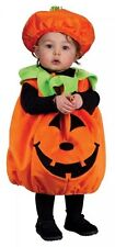 Infant Pumpkin Cutie Pie Halloween Costume 12-24 Months New with Hat Fuzzy sweet