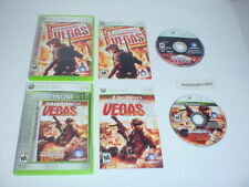 RAINBOW SIX VEGAS & RAINBOW SIX: VEGAS 2 both games complete- Microsoft XBOX 360