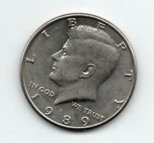 1989 D Kennedy Half Dollar