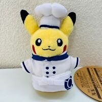 Chfe Pikachu Plush mascot Pokemon Cafe Reservation Limited from Japan F/S