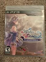Atelier Totori: The Adventurer of Arland (Sony PlayStation 3, 2011) UPC Punched