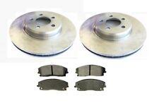 SET OF 320mm FRONT BRAKE DISCS & PADS  CHRYSLER 300C 05-12 DODGE MAGNUM
