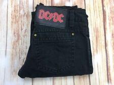 DC/DC DSQUARED2 Authentic Women's  Quality Black Low Waist Jeans Trousers 42