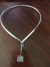 Karl Erik Palmberg for Alton. Sterling Silver Necklace with pendant.
