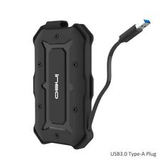 USB 3.0 SATA III Rugged Hard Drive Enclosure Disk Adapter Case With UASP New UK
