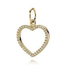 Pandora Be My Valentine Heart Diamond 14ktYG Rare 350177D Sold 5 Last One
