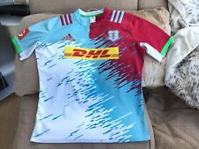 Adidas Harlequins Away Rugby Jersey 2016/17 Size XL Worn Once Great Cond