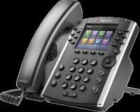 Polycom VVX 401 VoIP IP SIP Business Media Phone 2200-48400-025 Color Screen NEW