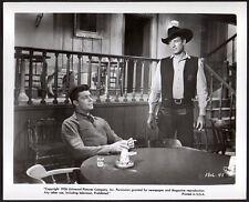DALE ROBERTSON & JOCK MAHONEY 1956 western A DAY OF FURY Vintage Orig Photo