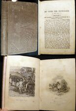 1845 MARY HOWITT MY UNCLE THE CLOCKMAKER 1st ED ILLUSTRATED TIME HOROLOGY