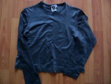 Dark silvery grey long sleeve top from C&A, Size 152 (UK 11-12)