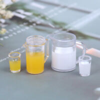 1/12 Dollhouse Miniature Accessories Jug Cup Set Simulation Drink  Model T Nd