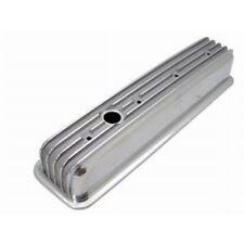 SBC Small Block Chevy Aluminum Valve Cover short Finned Center Bolt Vortec 87up