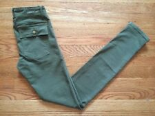 Current Elliott Army The Combat Skinny Ankle Pants Green Womens Choose Size