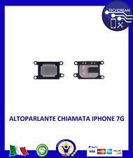 Altoparlante chiamata superiore  iPhone 7 cassa auricolare speaker voce audio