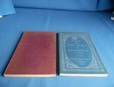 Town & City Seals Of Massachusetts 2 Vols. State Street Trust Pamphlets 1950-51