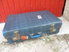 GRANDE VALISE VINTAGE ANGLAISE FERMETURE A CREMAILLERE CHENEY ENGLAND SUITCASE