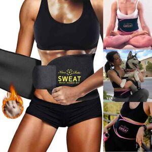 Women&Men Waist Trimmer Cincher Sweat Belt Slim Body Shaper Sports Girdle Band