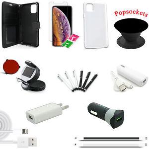18 teiliges iPhone 11 Pro Max Zubehör Set Paket Tasche Hülle Charger Powerbank