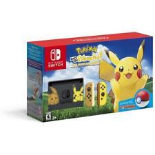 Nintendo Switch Pokemon Pikachu Ultimate Edition Brand New Jeptall