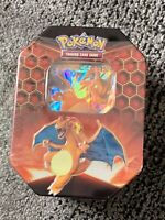 Pokemon TCG Hidden Fates Charizard Tin Factory Sealed