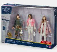 BBC Dr Who Companions Of The Fourth Doctor Action Collector Figure Set b&m