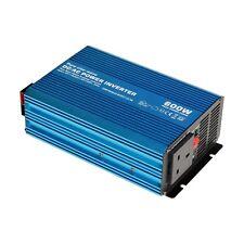 600 W 12 V onda sinusoidale pura potenza inverter per caravan, Camper, Yacht o di backup