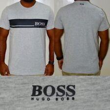 Hugo Boss Men's Black, White & Grey T-Shirt *Best christmas presents for Him*