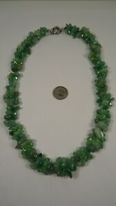 Lee Sands Wacky Friday Green Aventurine & Chinese Crystal 3 st. woven NK