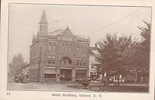 Oxford, Ny - Bank Building