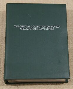 The Official Collection of World Wildlife First Day Covers in green folder