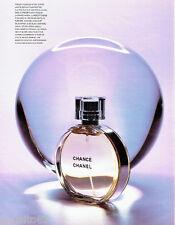 PUBLICITE ADVERTISING 016  2003  CHANEL  parfum Chance