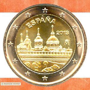 Sondermünzen Spanien: 2 Euro Münze 2013 El Escorial Sondermünze Gedenkmünze