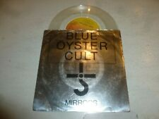 "BLUE OYSTER CULT - Mirrors - 1979 UK 2-track 7"" vinyl Single - Clear Vinyl"