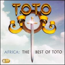 TOTO (2 CD) AFRICA : THE BEST OF ~ GREATEST HITS ~ HOLD THE LINE~ROSANNA + *NEW*