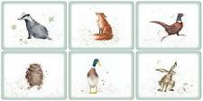 Pimpernel Wrendale DESIGNS SET DE TABLE ENSEMBLE 6 Tapis PAYS animal ferme NEUF
