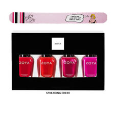 Zoya Nail Polish Spreading Cheer 2017 Holiday Quad. FREE Cricket Nail File.