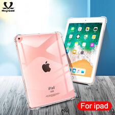Shockproof Soft TPU Silicon Transparent Slim Cover Case for iPad mini 5 10.2 9.7