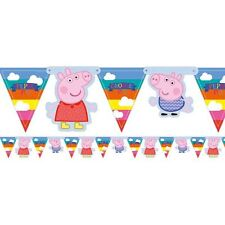 Pepper Pig cardboard room banner