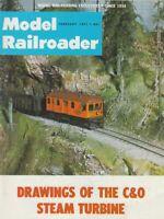 "[75512] ""MODEL RAILROADER"" MAGAZINE - FEBRUARY, 1971, Vol. 38, No. 2"
