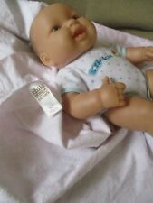"Berenguer 13"" Vinyl Doll Drink & Wet Baby- 2 Teeth Sleeper/Blanket"