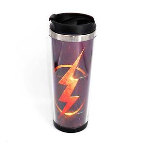 The Flash Badge Mug Creative Travel Coffee Water Tea Cup for Cars Adults 400ML