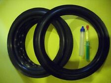 Braun Sm 1004 Speaker Rubber Beader Rubber Surrounds 10 Inch Set 238g